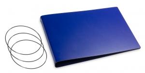 A5+ Quer Hülle 3er Lefa blau inkl. ElastiXs
