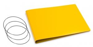 A5+ Quer Hülle 3er Lefa gelb inkl. ElastiXs