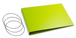 A5+ Quer Hülle 3er Lefa grün inkl. ElastiXs