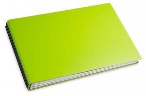 A5+ Quer 3er Lefa grün mit Notizenmix