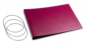 A5+ Quer Hülle 3er Lefa violett inkl. ElastiXs