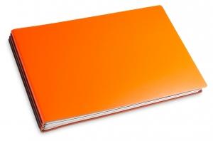 A5+ Quer 3er Lefa orange mit Kalender 2021