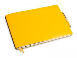 A5+ Quer 2er Lefa gelb in der BOX