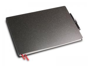 A5+ Quer 2er Lefa graphit in der BOX