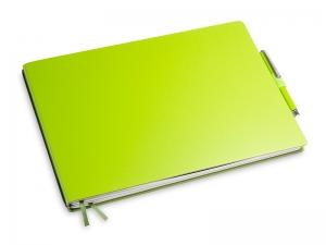 A5+ Quer 2er Lefa grün in der BOX