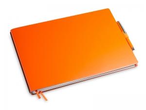 A5+ Quer 2er Lefa orange in der BOX