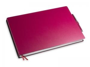 A5+ Quer 2er Lefa violett in der BOX