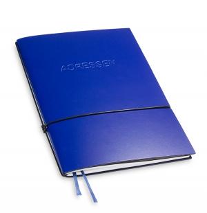 A5 1er Adressbuch Lefa blau