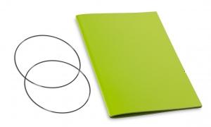 A5 Hülle 1er Lefa grün inkl. ElastiXs