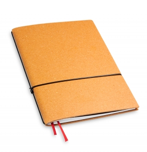 A5 1er Notizbuch Lefa natur, Notiz Blanko
