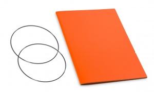 A5 Hülle 1er Lefa orange inkl. ElastiXs