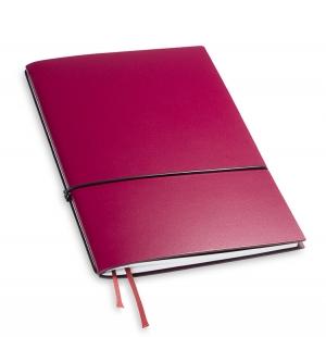 A5 1er Notizbuch Lefa violett, Notiz Blanko