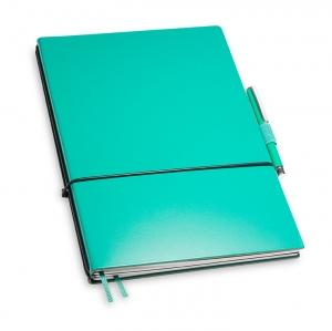 A5 2er Notizbuch Lefa türkis in der BOX