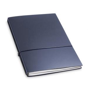 A5 2er Notizbuch Lefa dunkelblau, Notizenmix
