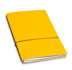 A5 2er Notizbuch Lefa gelb, Notizenmix