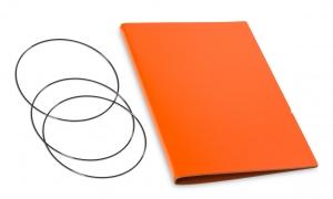 A5 Hülle 2er Lefa orange inkl. ElastiXs