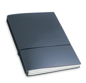 A5 3er Notizbuch Lefa dunkelblau, Notizenmix