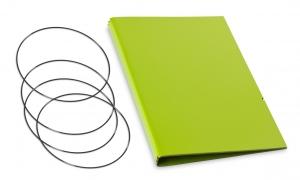 A5 Hülle 3er Lefa grün inkl. ElastiXs