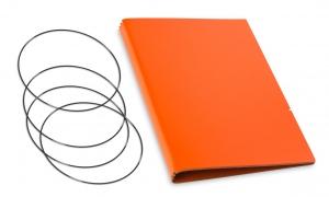 A5 Hülle 3er Lefa orange inkl. ElastiXs