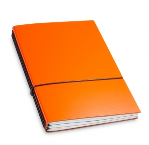A5 3er Notizbuch Lefa orange, Notizenmix