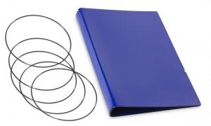 A5 Hülle 4er Lefa blau inkl. ElastiXs