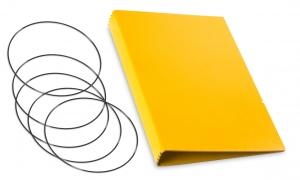 A5 Hülle 4er Lefa gelb inkl. ElastiXs