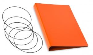 A5 Hülle 4er Lefa orange inkl. ElastiXs