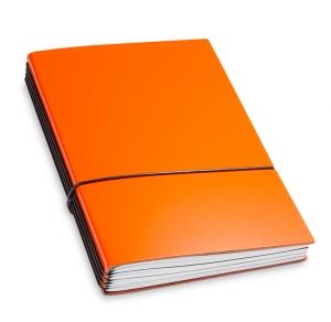 A5 4er Lefa orange mit Kalender 2020 - 2021 und 2 x Notizen