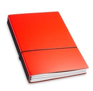 A5 4er Lefa rot mit Kalender 2021 und 2 x Notizen