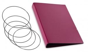 A5 Hülle 4er Lefa violett inkl. ElastiXs