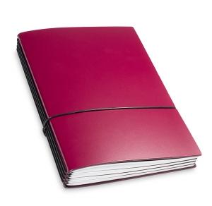 A5 4er Lefa violett mit Kalender 2020 - 2021 und 2 x Notizen