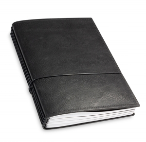 A5 4er Leder natur schwarz mit Kalender 2020 und 2 x Notizen