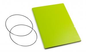 A6 Hülle 1er Lefa grün inkl. ElastiXs