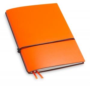 A6 1er Lefa orange mit 1 x Notiz