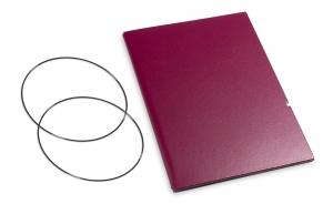A6 Hülle 1er Lefa violett inkl. ElastiXs