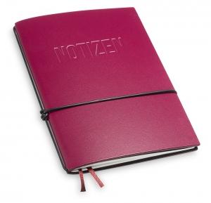 """NOTIZEN"" A6 1er Lefa violett mit 1 x Notiz"