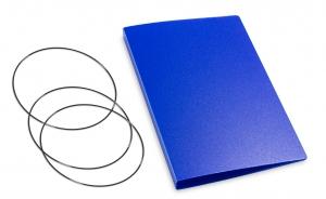 A6 Hülle 2er HardSkin königsblau inkl. ElastiXs