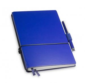 A6 2er Notizbuch Lefa blau in der BOX