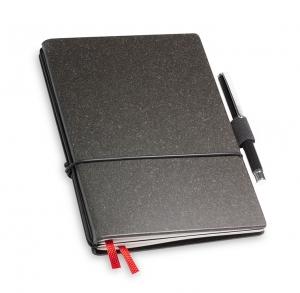 A6 2er Notizbuch Lefa graphit in der BOX