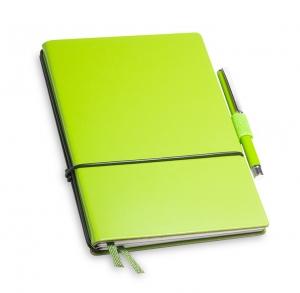 A6 2er Notizbuch Lefa grün in der BOX