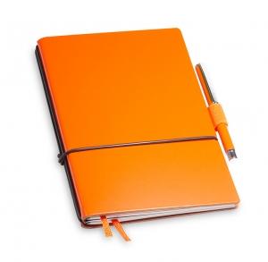 A6 2er Notizbuch Lefa orange in der BOX