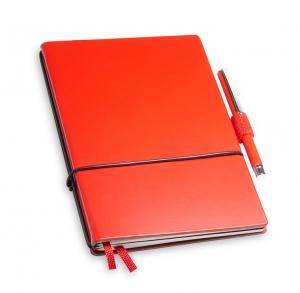 A6 2er Notizbuch Lefa rot in der BOX