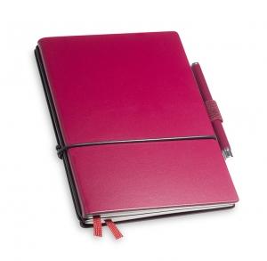 A6 2er Notizbuch Lefa violett in der BOX
