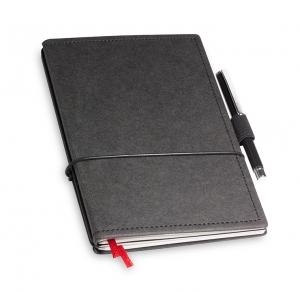A6 2er Notizbuch Texon schwarz in der BOX