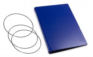 A6 Hülle 2er Lefa blau inkl. ElastiXs