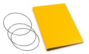 A6 Hülle 2er Lefa gelb inkl. ElastiXs