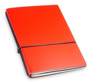 A6 2er Lefa rot mit Notizenmix und Doppeltasche