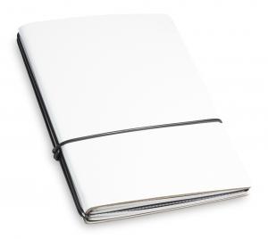 A6 2er Lefa weiß mit Notizenmix und Doppeltasche
