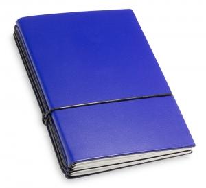 A6 3er Lefa blau mit Notizenmix