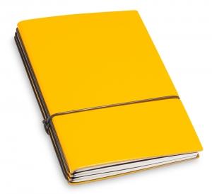 A6 3er Lefa gelb mit Notizenmix